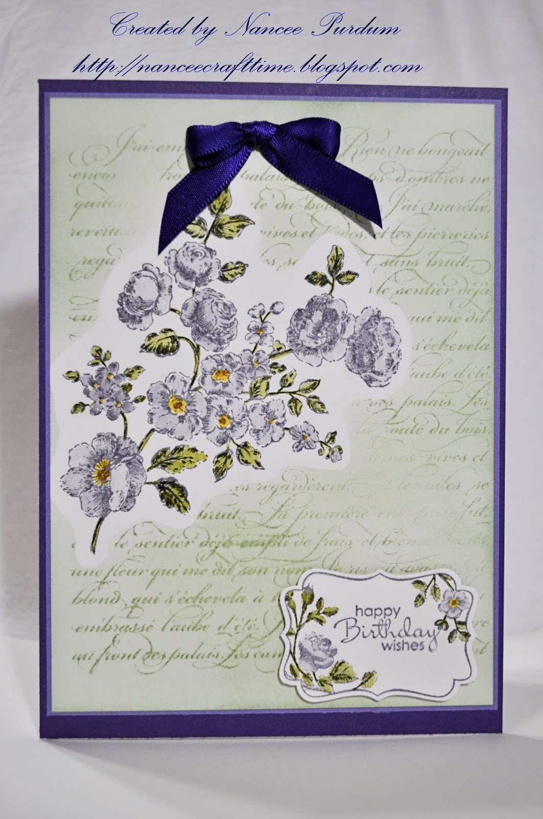 I Found That One Of The Images From Four Frames Stampin Up Kind Matched Floral Background So Used It Matching Punch